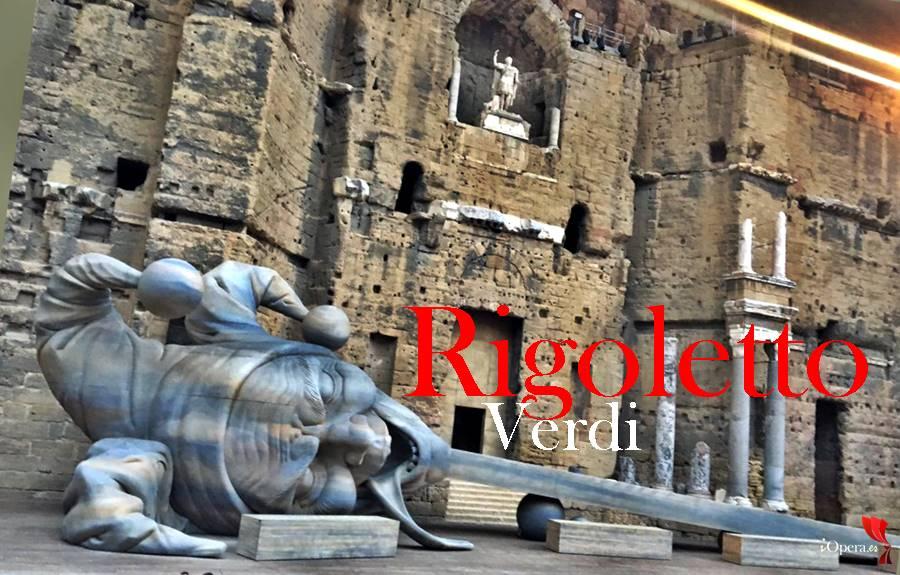 Rigoletto de Verdi desde el Festival de Orange Leo Nucci Celso Albelo y Nadine Sierra