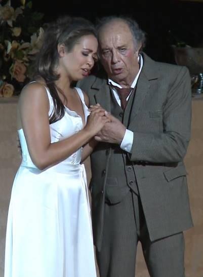 Rigoletto de Verdi desde el Festival de Orange Leo Nucci y Nadine Sierra