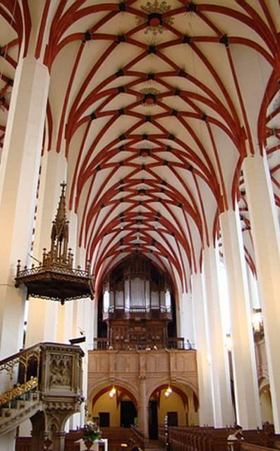 Cantatas de Bach en París 2 de 7 Iglesia de Santo Tomás de Leipzig