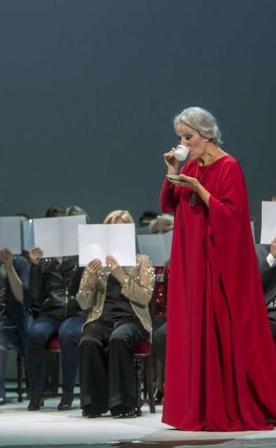 Sonata de otoño, estreno mundial vídeo Anne-Sophie von Otter