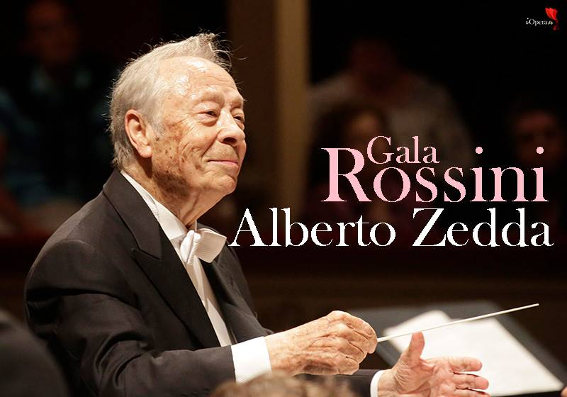 Gala Rossini, en memoria de Alberto Zedda
