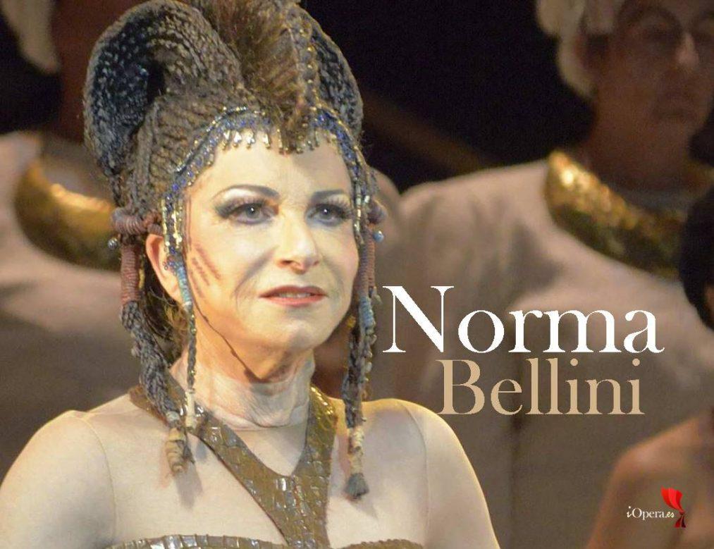 Norma de Bellini en Venecia, desde el Teatro La Fenice, vídeo de la ópera de Vincenzo Bellini, despedida de los escenarios de la soprano Marielle Devia, disponible hasta el 19 de mayo de 2019