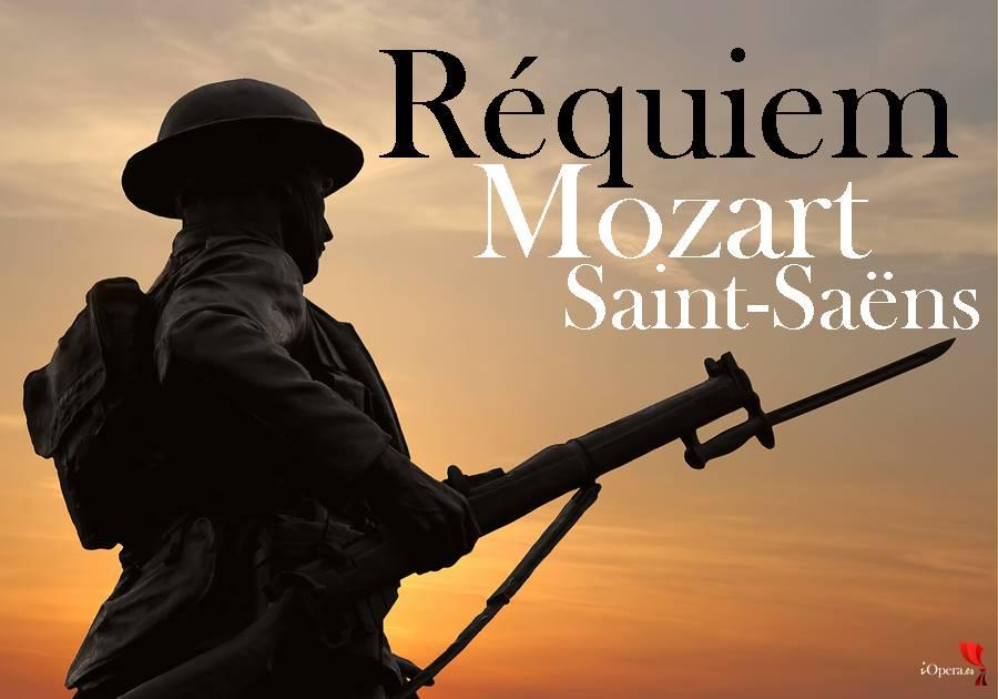 Requiem de Mozart y de Saint-Saëns en Verdun