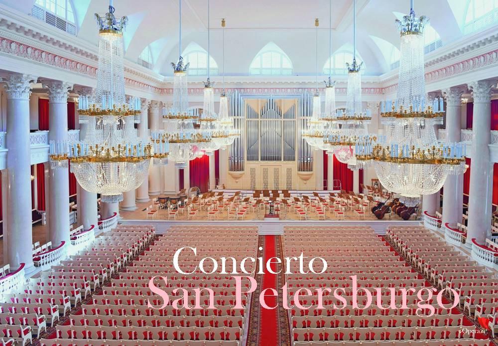 Concierto homenaje en San Petersburgo