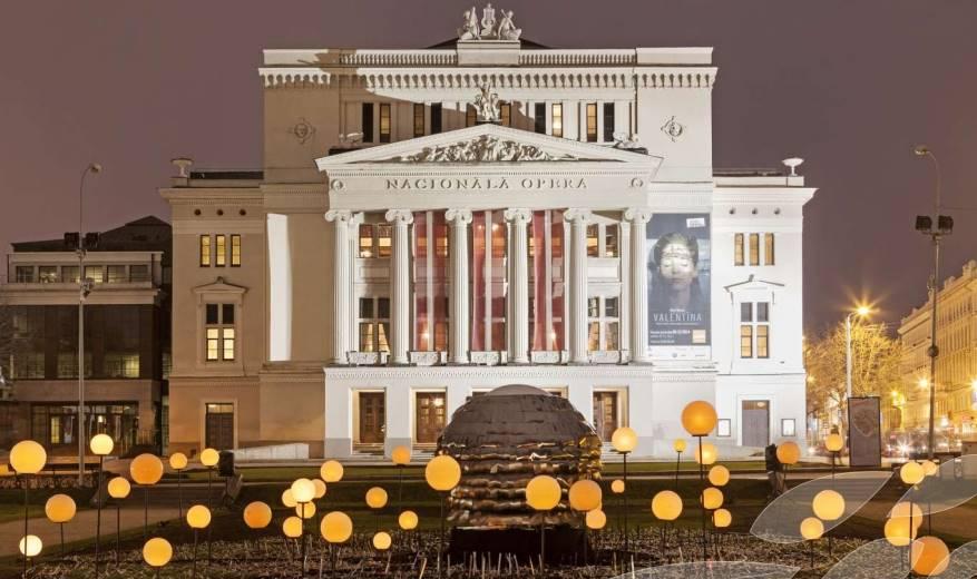 Gala 100º aniversario Ópera de Letonia concierto vídeo teatro