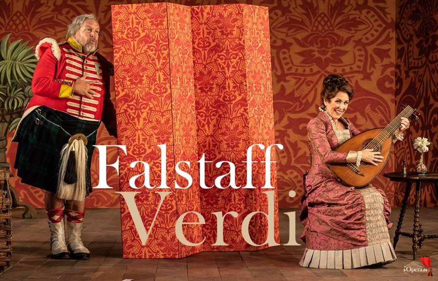Falstaff de Verdi en Wormsley