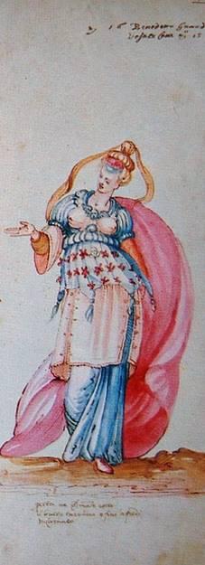 Stravaganza d'Amore, la Florencia de los Medici Vestuario diseñado para el intermezzo La Pellegrina de Bernardo Buontalenti en 1589 vídeo