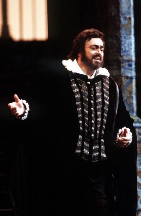 Don Carlo en la Scala en 1992 Luciano Pavarotti