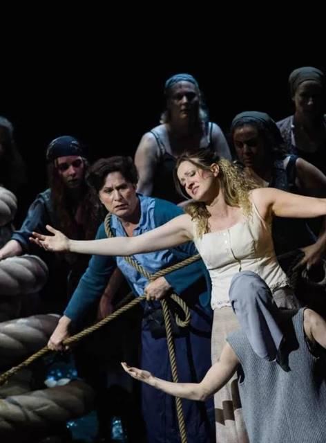 El holandés errante de Wagner en Nantes vídeo