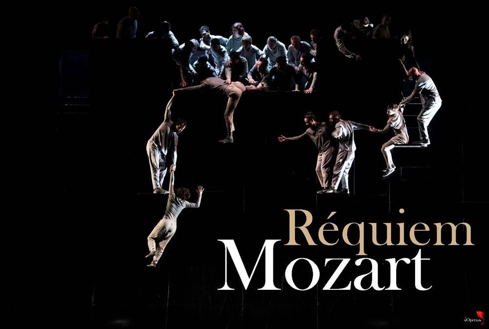 Réquiem de Mozart escenificado, desde la Seine Musicale de París,