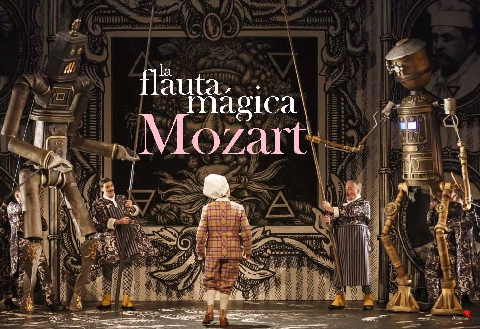 La flauta mágica desde Glyndebourne vídeo Mozart