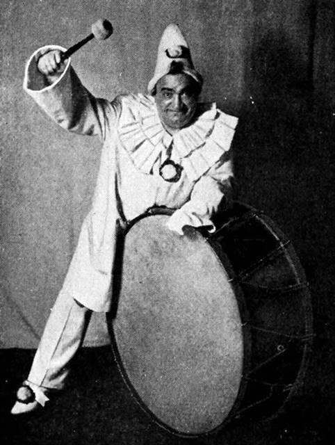 Pagliacci de Leoncavallo Enrico Caruso como Canio